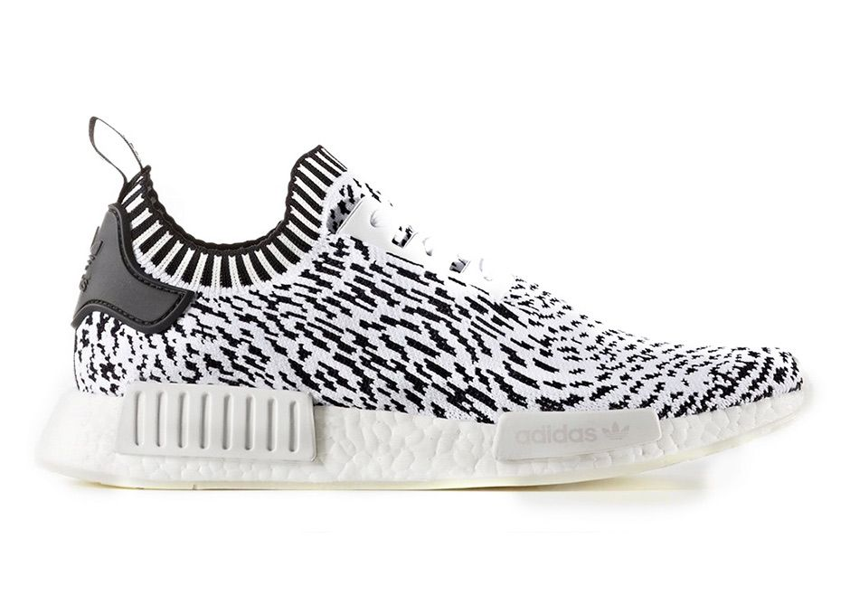 The adidas NMD R1 Primeknit Zebra Pack is set to release this Spring 2017  featuring 2