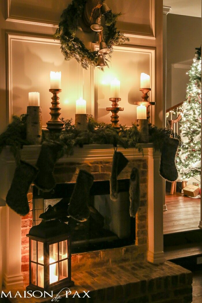 discover ideas about christmas night 35 beautiful homes all decorated