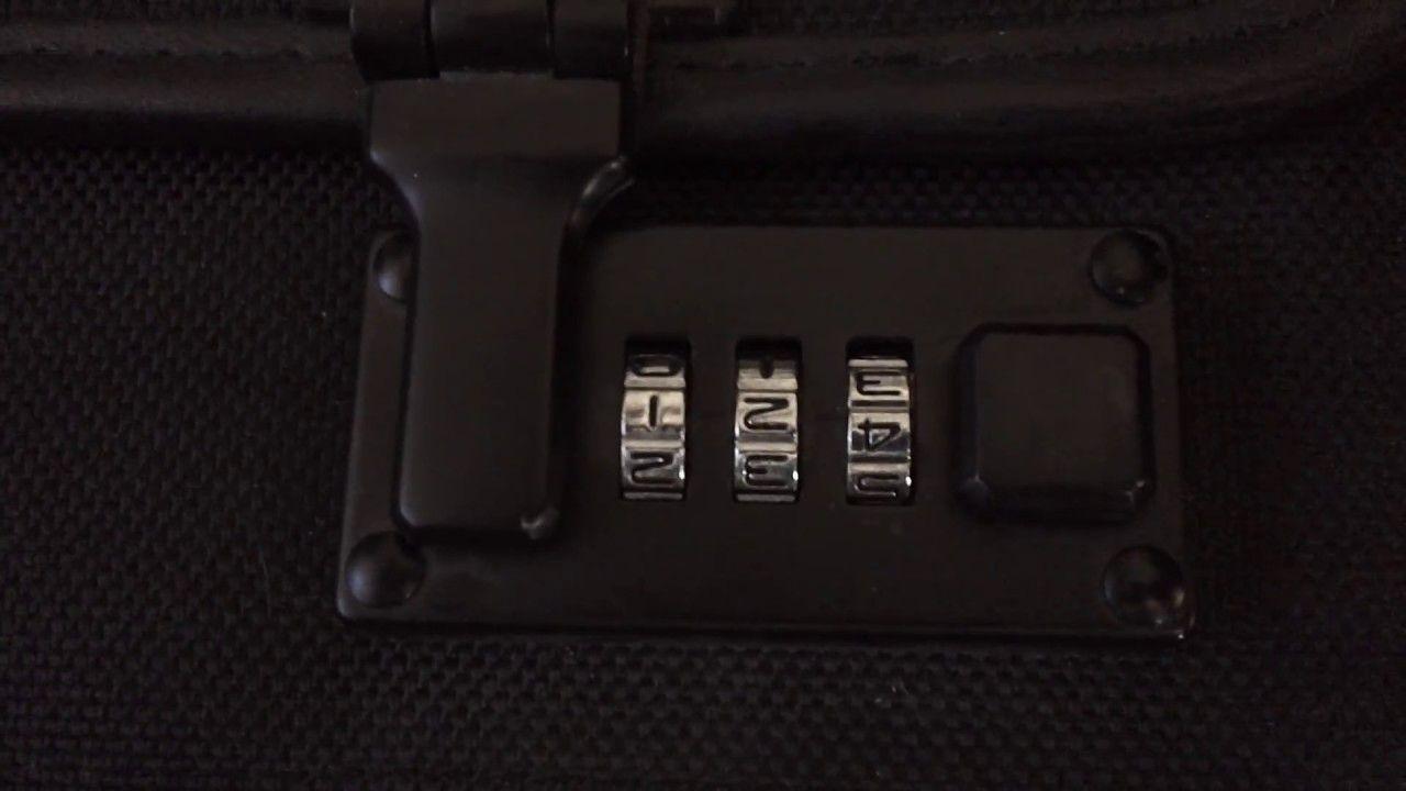 Unlock a 3Digit Briefcase Lock [find by Lynn Herr