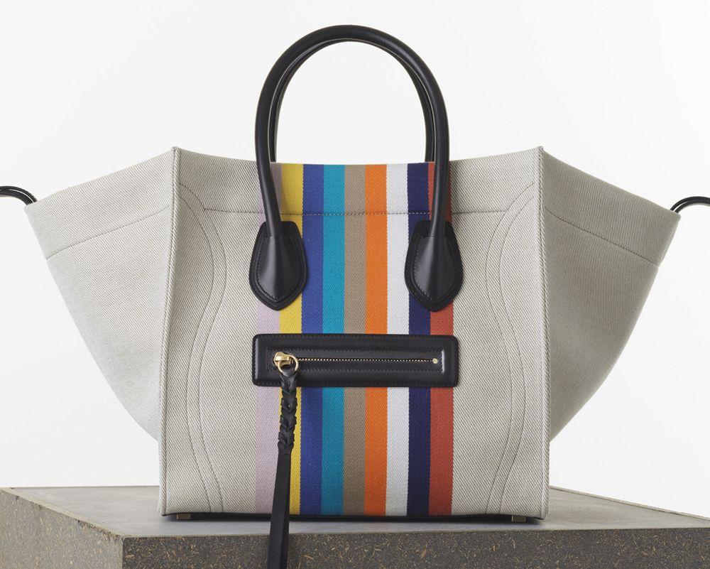 Celine Medium Phantom Luggage Tote Textile  2 ab487d40517