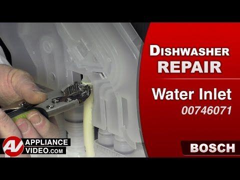 Bosch Dishwasher Won T Fill Replace Water Inlet Valve 622058 Youtube Bosch Dishwashers Dishwasher Repair Bosch