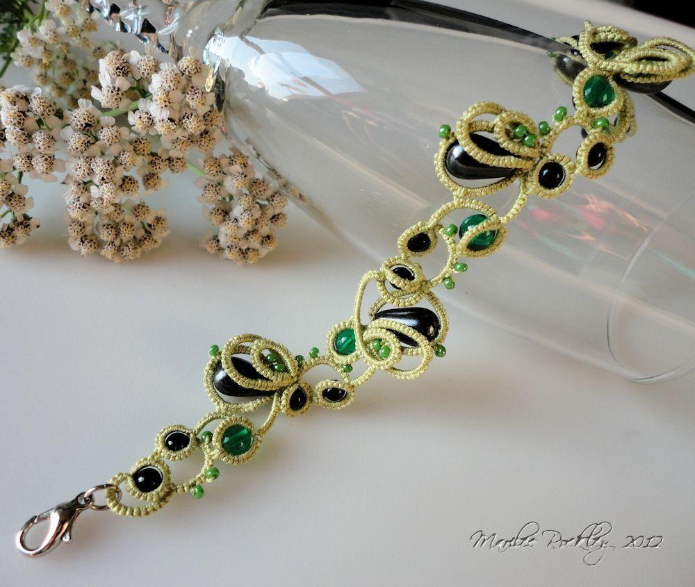 Tatted Concoction bracelet