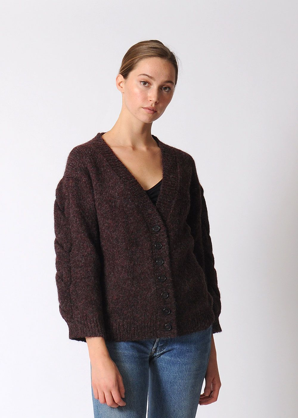 Micaela Greg Twist Cardigan | Chunky cardigan, Alpacas and Cable