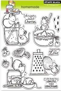 Penny Black Clear Stamps Homemade Desenhos Desenhos