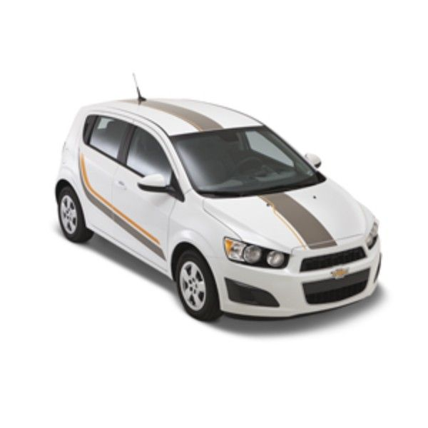 2016 Sonic Decal Stripe Package Hatchback Body Side Graphics Hatchback Sonic Chevy Sonic
