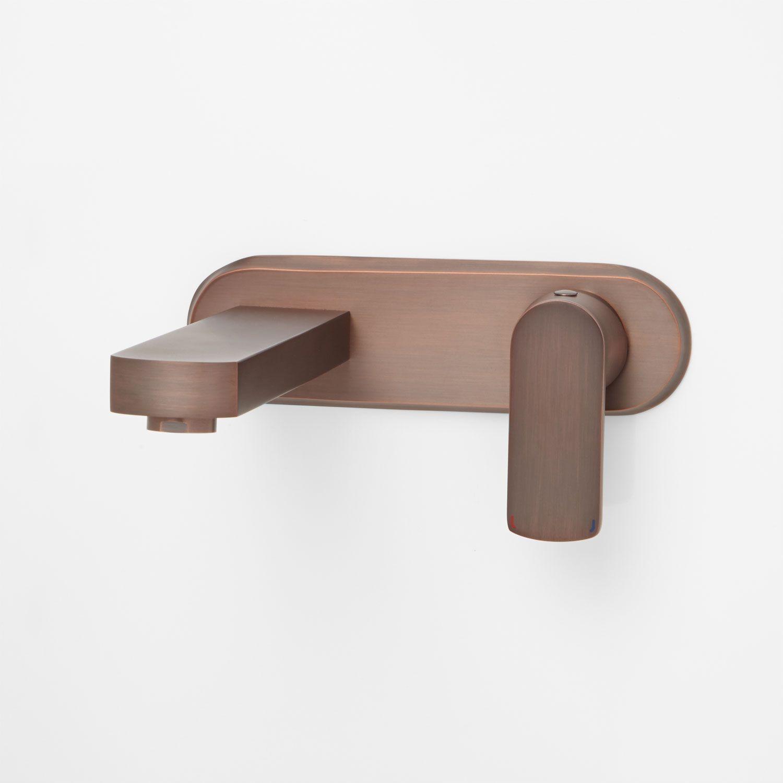 Altus Wall Mount Bathroom Faucet No Overflow Oil Rubbed Bronze