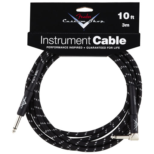 Fender Custom Shop Performance Series 10ft Cable Angled