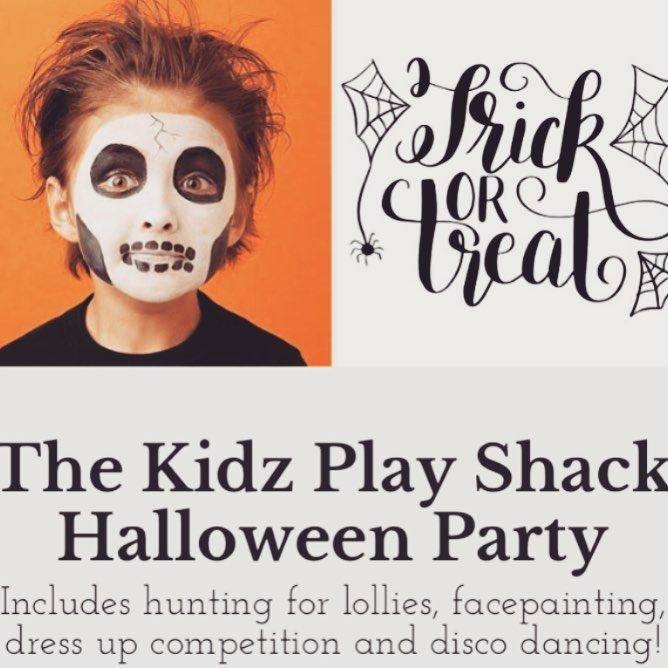 Want A Safe Fun Space For The Kids To Trick Or Treat This Halloween Come Along Kidz Play Shack On 31st Of October From 4 6pm