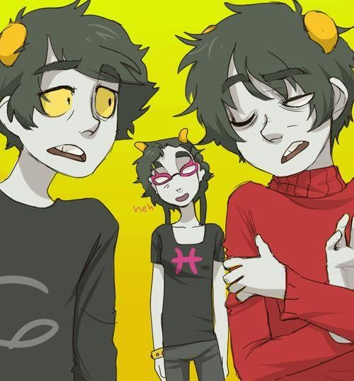 karkat meenah and kankri homestuck homestuck fandoms told you so