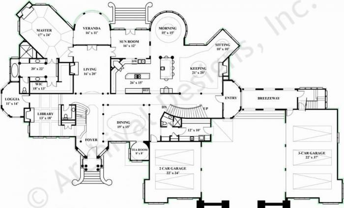 House plans 7000 square feet house plans for 7000 sq ft house plans