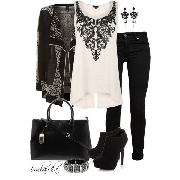 22 Black And White Combinations So Many Cute Outfit