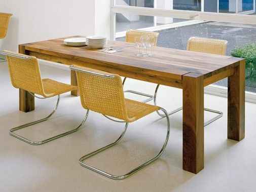 Contemporary Wood Dining Table by Philipp Mainzer 3 | Home Create .