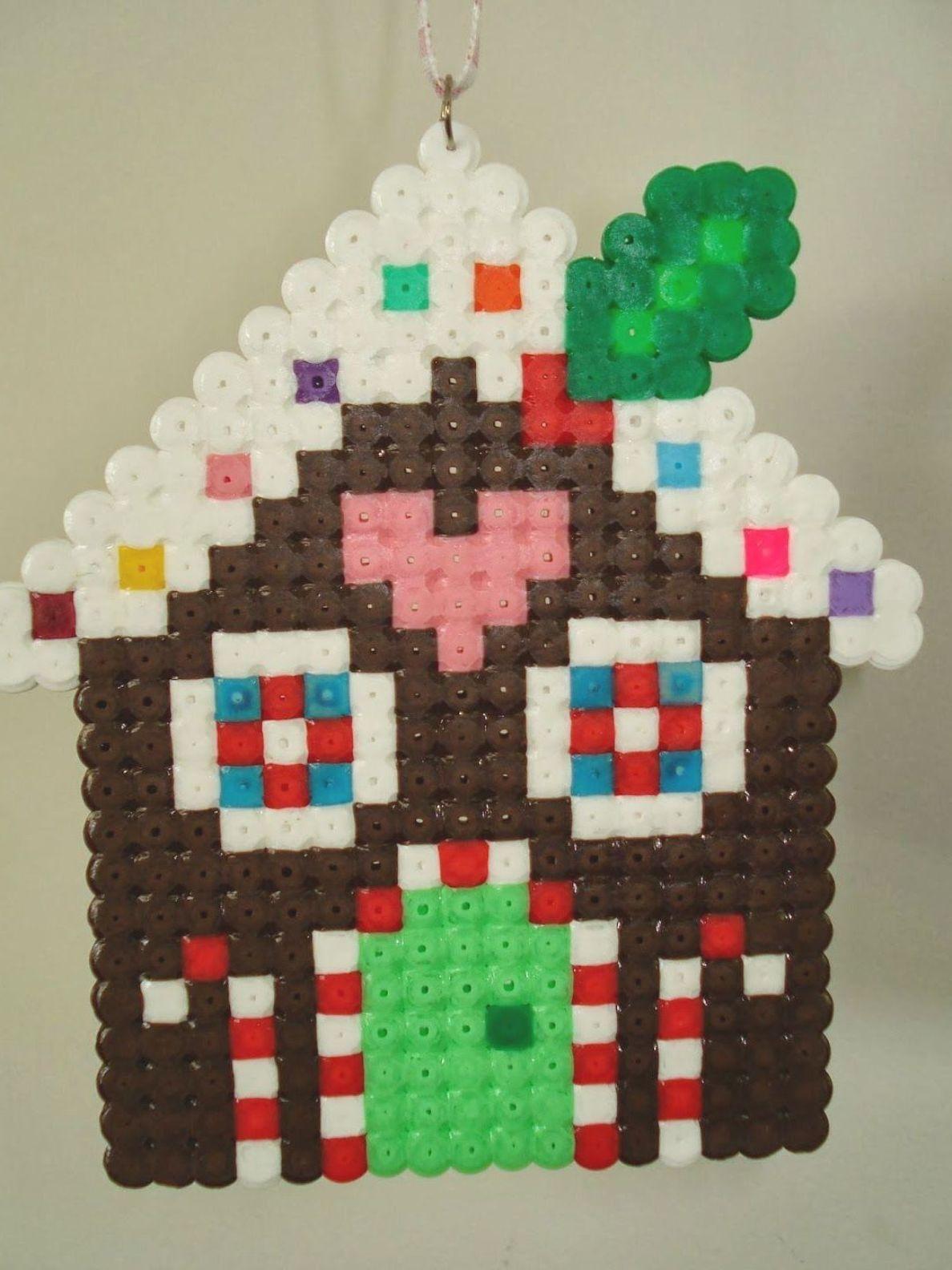 Cupcake Cutie Free Gingerbread House Cross Stitch Or Hama