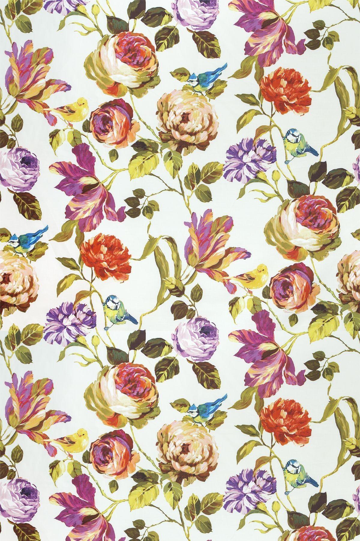 Country Garden Summer (8530/348) Prestigious Fabrics A