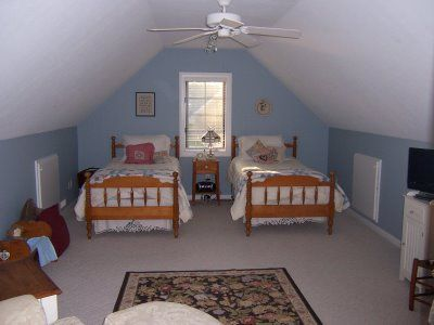Attic Remodel Before And After Renovation