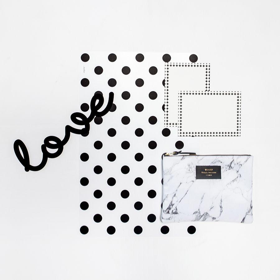We Love This Woouf Marble Storage Bag It S So Practical