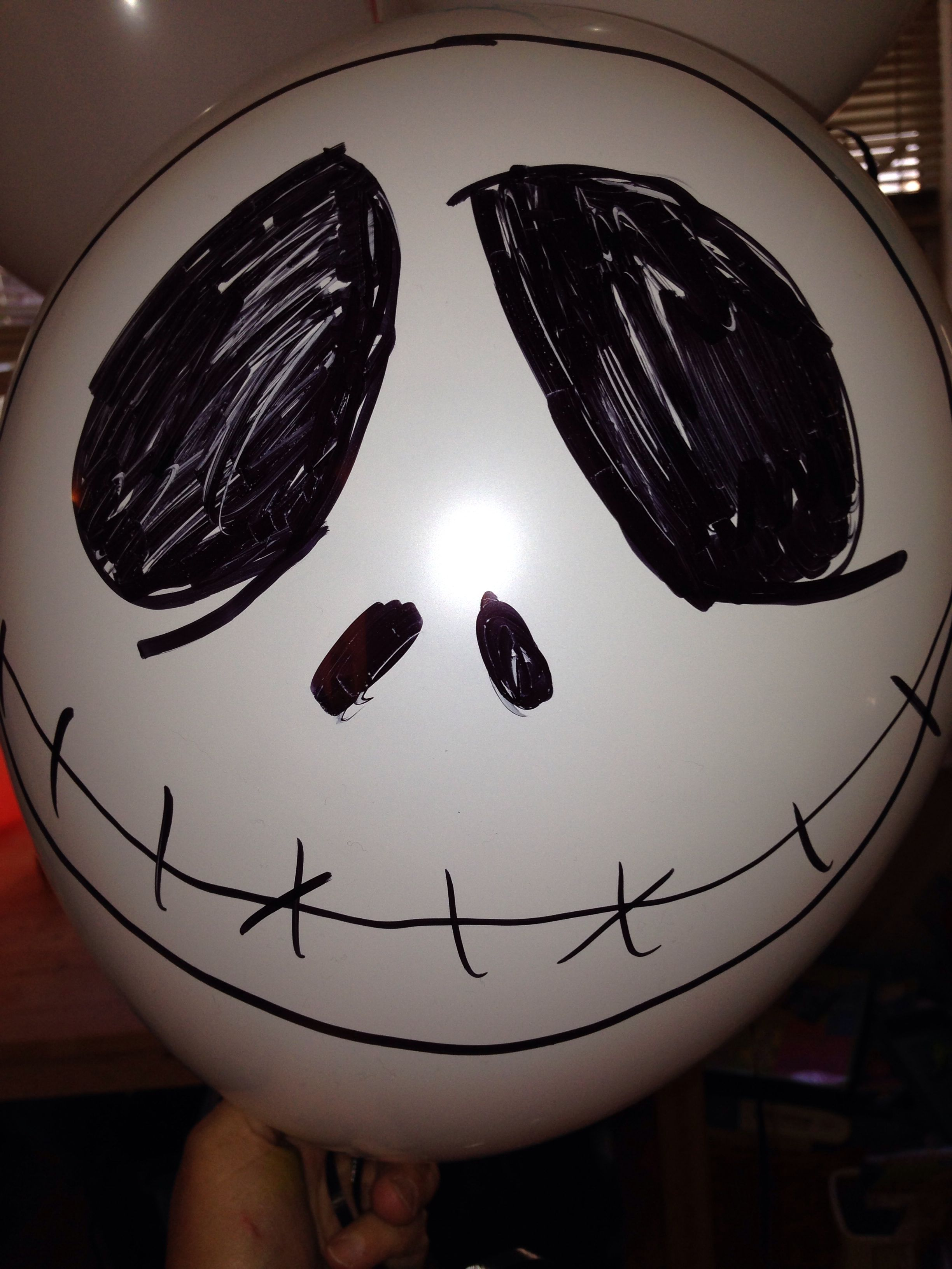 Jack skellington halloween balloon decoration halloween - Jack skellington decorations halloween ...