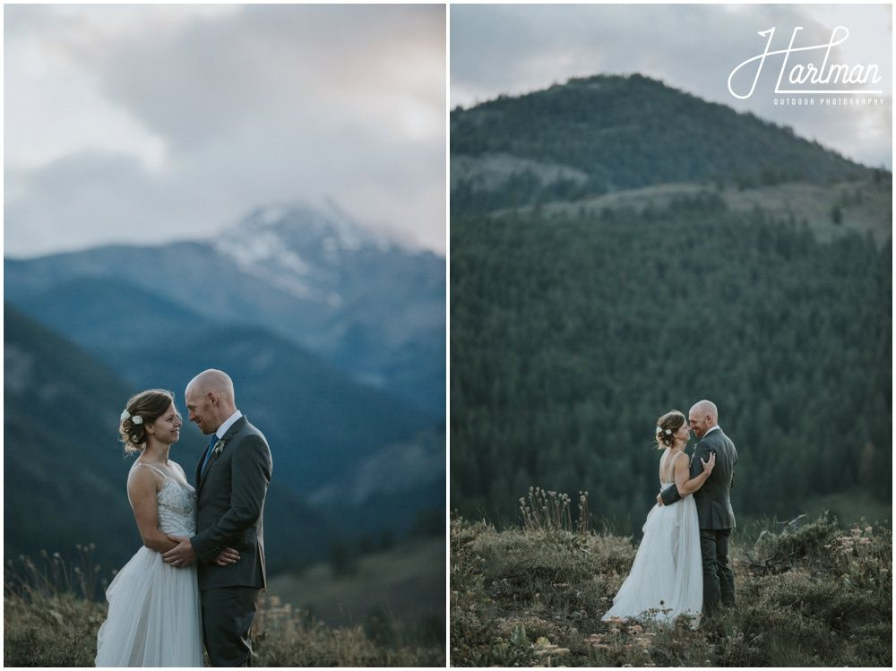 Mountain Wedding In Washington State Winthrop WA Image By Hartman Outdoor Photography