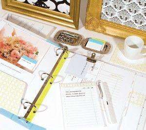 DIY wedding organizer