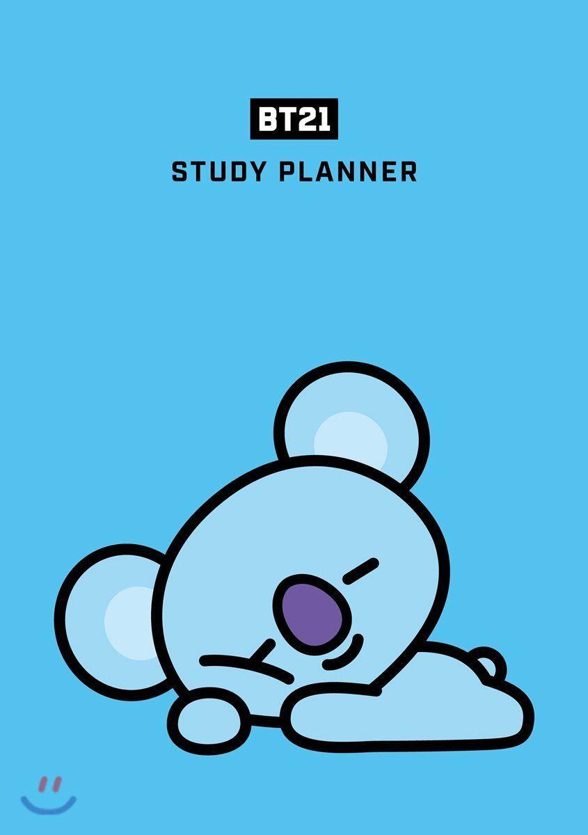 Bts Bt21 Study Planner Goods Rj Shooky Koya Chimmy Mang Cooky Tata Van Tracking Study Planner Bts Wallpaper Bts Chibi
