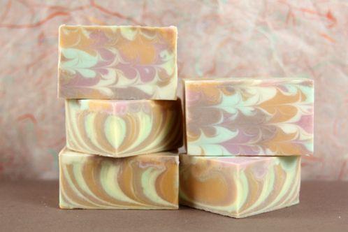 Fall Sherbet Cold Process Soap - Soap Queen