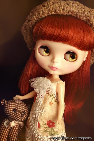 If it wasnt for some of the nightmare fringes I've seen, I think I would be hunting out this girl - Ribonetta Wish neo Blythe