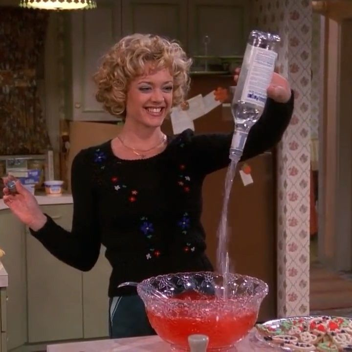 Daily Dose Of Vintage On Instagram That 70 S Show Getting Into That Christmas Spirit Like Laurie That 70s Show That 70s Show That 70s Show Quotes