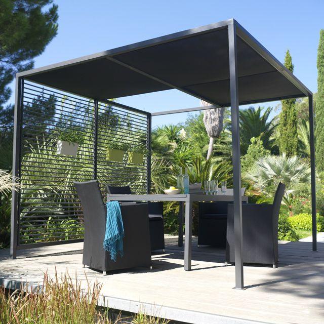 Tonnelle Terrasse Jardin Terrasse Idees Jardin