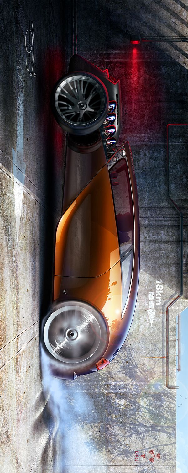 Hot rod Making of : The ultimate race on Behance | Hot rods, Concept cars, Cool cars