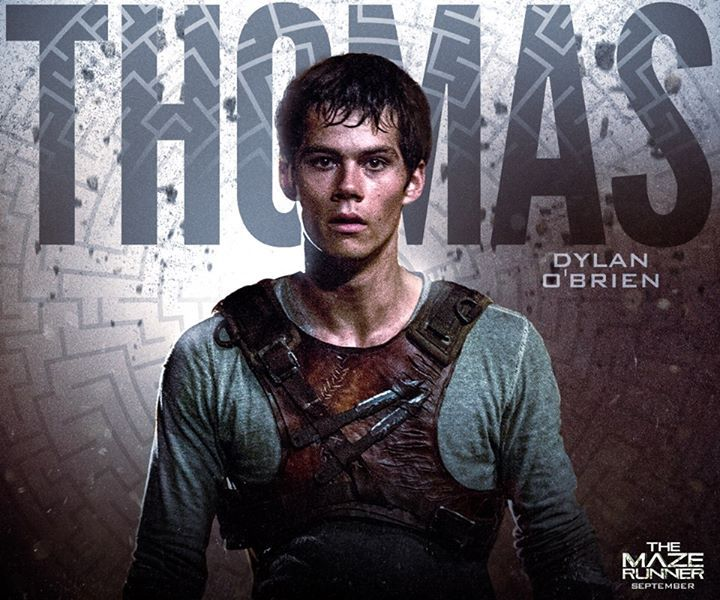 Thomas THE MAZE RUNNER Character Poster