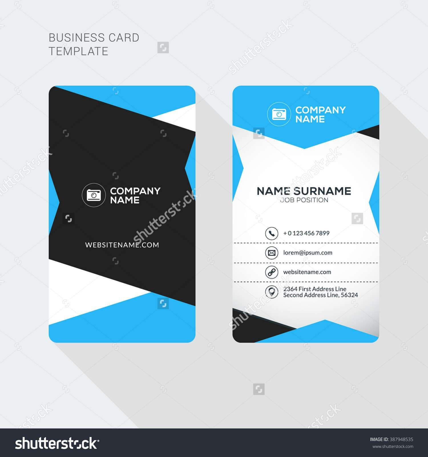 2 Sided Business Card Template Word Fresh 2 Sided Business For 2 Sided Business Card Tem Business Card Template Word Business Card Template Make Business Cards