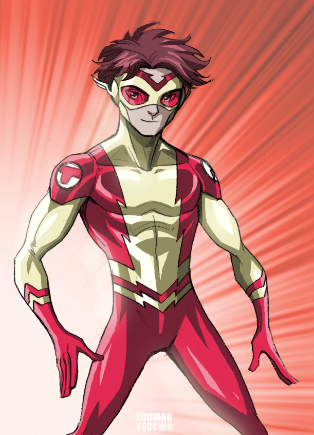 Kid Flash - Bart Allen...