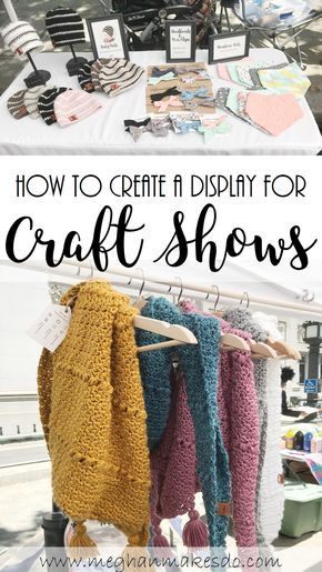 How To Create A Display For Craft Shows #craftfairs