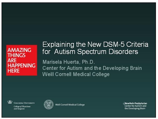 Autism Diagnosis Explained >> Dsm 5 What Does It Mean For Your Child With Autism Or Idd