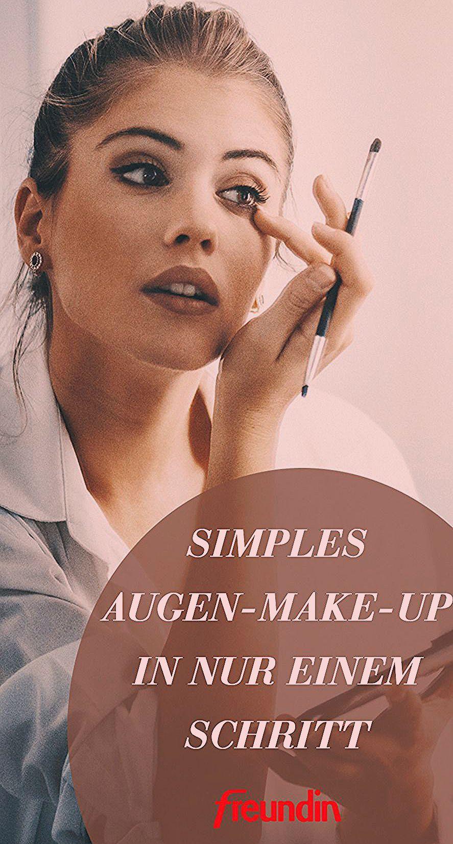 Photo of Simples Augen-Make-up in nur einem Schritt   freundin.de