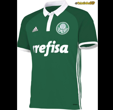 5f08339b4e A Adidas deve oficializar nos próximos dias a nova camisa do Palmeiras para  a temporada 2017