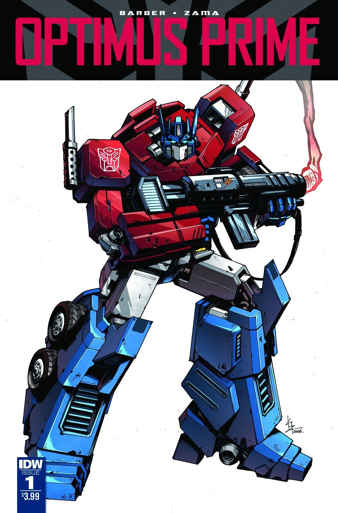 Transformers News: Sneak Peek - IDW Optimus Prime #1 Preview