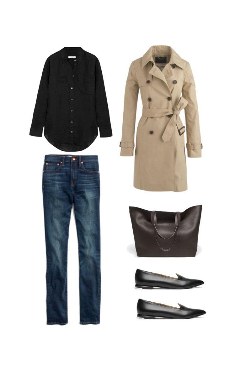 Minimal Wardrobe Winter Outfits