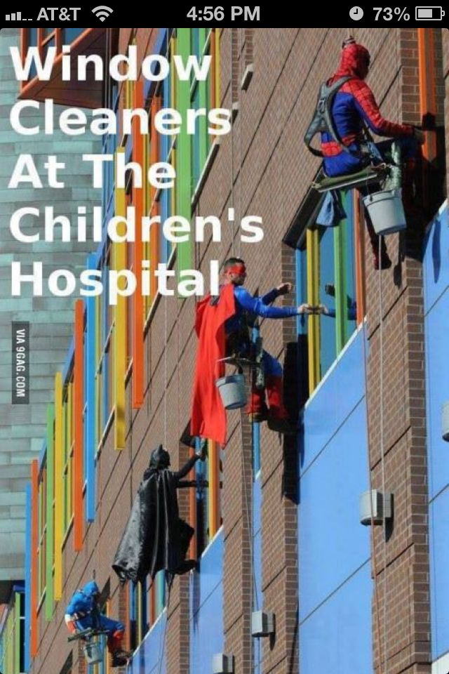 imagine the children's faces as they looked out their window. Its so geat that they do this, its a very cute idea. :) my mom works at a children's hospital and told me this