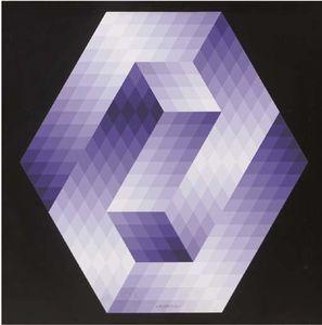 Forma-M - (Victor Vasarely)