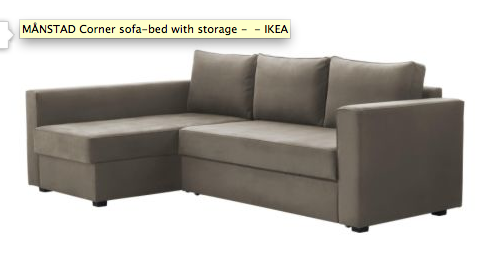 Ikea Manstad Corner Sofa Bed Http Www Us En Catalog Products 90198978
