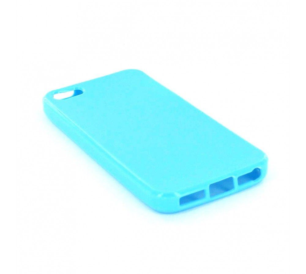 Silicone Bleu Coque Iphone 5c Belle Protection Pour Votre