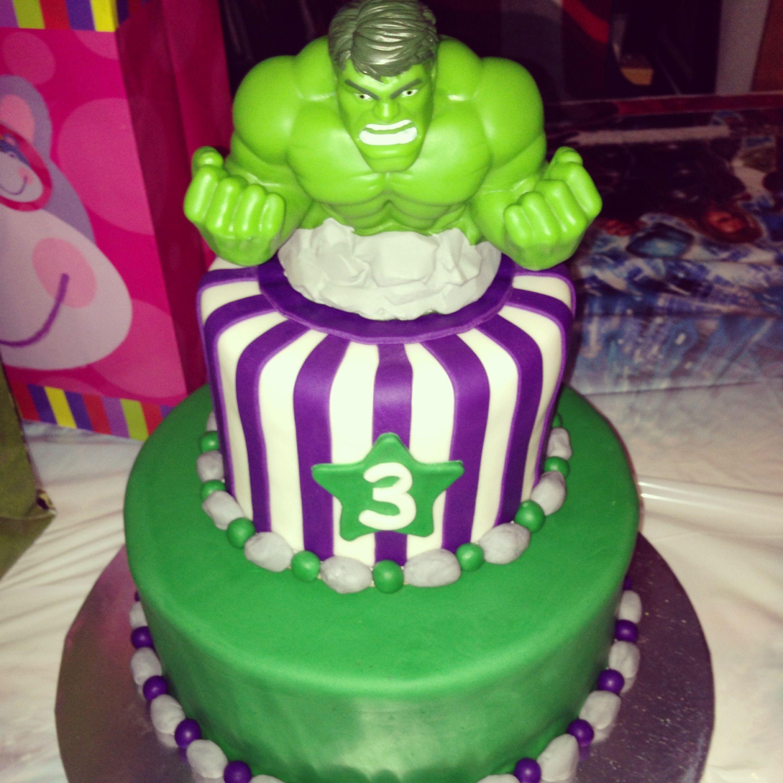 Girls Hulk Cake My Cakes Pinterest Hulk cakes Cake and