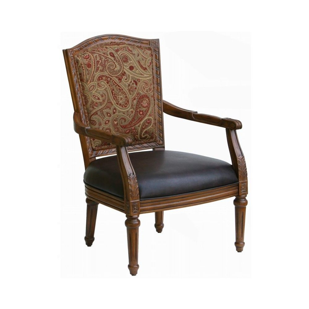 Sensational Kent High Back Accent Chair In Brown Comfort Pointe In Ibusinesslaw Wood Chair Design Ideas Ibusinesslaworg