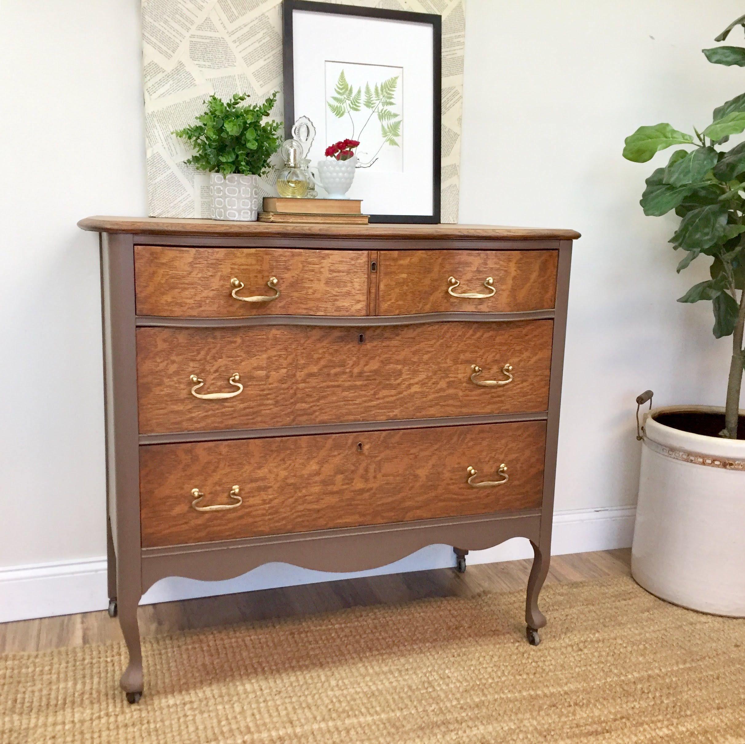 Antique Oak Dresser Refinished Furniture Furniture
