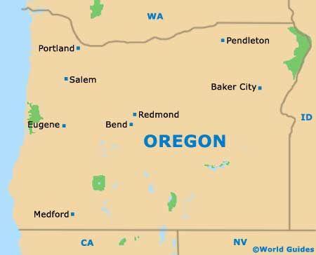 Portland Maps and Orientation: Portland, Oregon - OR, USA ...