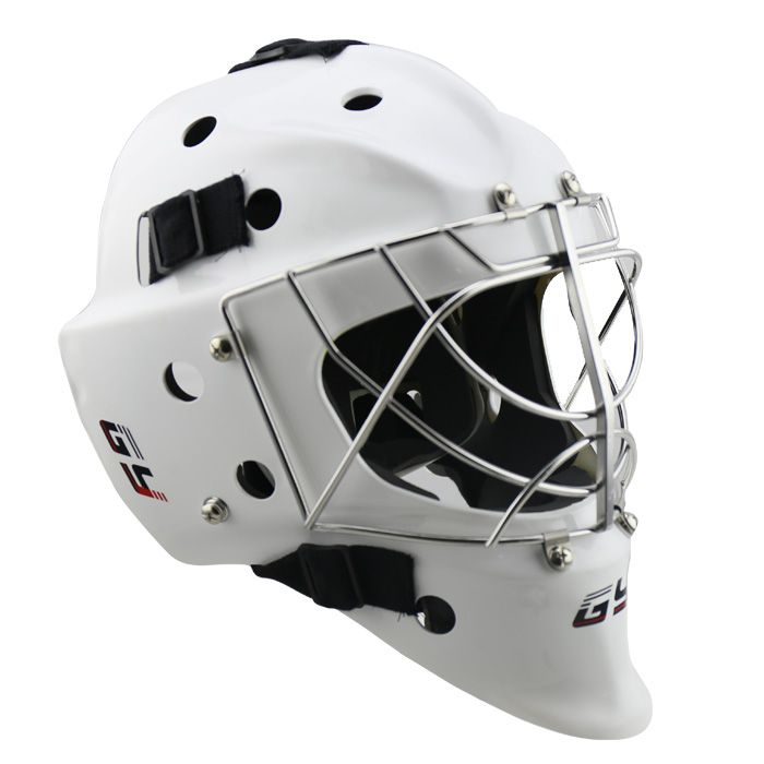 Model Gy Gh6000 C4 Outer Shell Polycarbonate Liner Absorption Foam Mask 304 Stainless Steel With Cat S Eyes Design Chin G Goalie Mask Ice Hockey Hockey Helmet