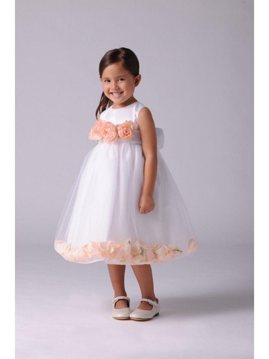 1e198d3ba76 Ball Gown Flower Girl Dresses with Handmade Flowers 402004 ...