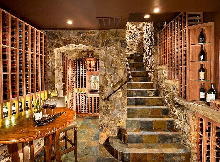 Furniture Bar Interior Design Ideas Under Stairs Wine Cellar ...