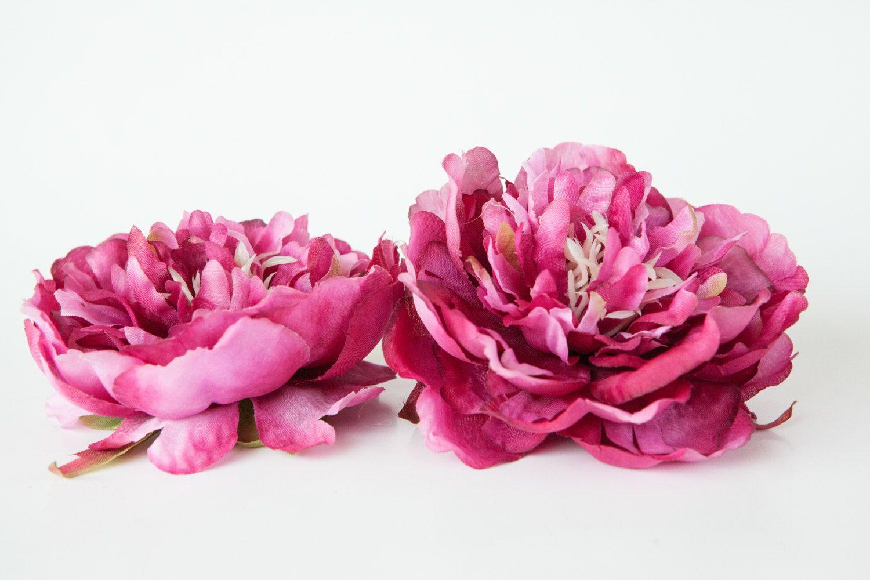 Clearance medium two tone raspberry pink peony 45 inches silk clearance medium two tone raspberry pink peony 45 inches silk flower artificial flower item 0740 mightylinksfo